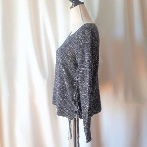 American Eagle Outfitters Side Lacing Sweater Size Medium